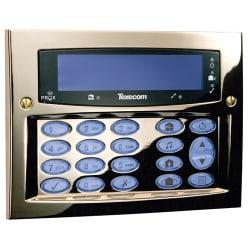 Texecom DBD-0122 - KEYPAD LCDLP Premier Elite FMK Brass