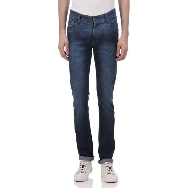 KAFE Regular Men's Dark Blue Jeans