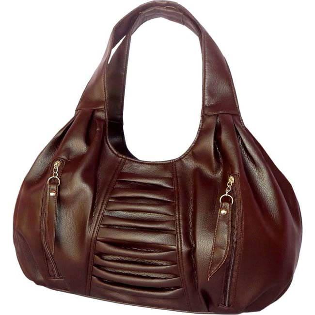 Branded  Shoulder Bag  (BROWN)