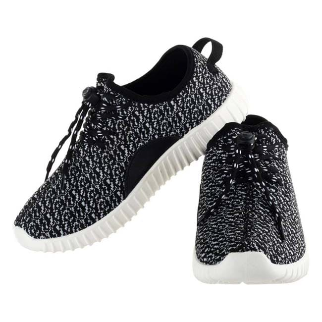 Lancer Running Shoes  (Black, White)