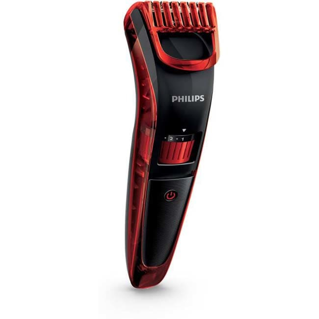 Philips QT4006/15 Pro Skin Advanced Trimmer For Men  (Black, Red)