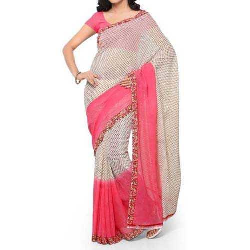 women's daily wear georgette saree online